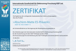 IGEF-ZERTIFIKAT-AES