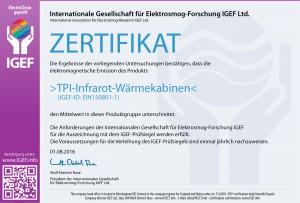 IGEF-ZERTIFIKAT-EIN