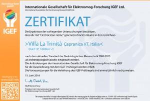 IGEF-ZERTIFIKAT-Villa