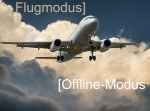 Elektrosmog-Flugmodus