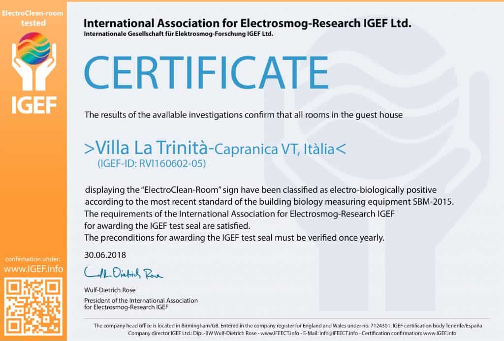 IGEF-Certifikate