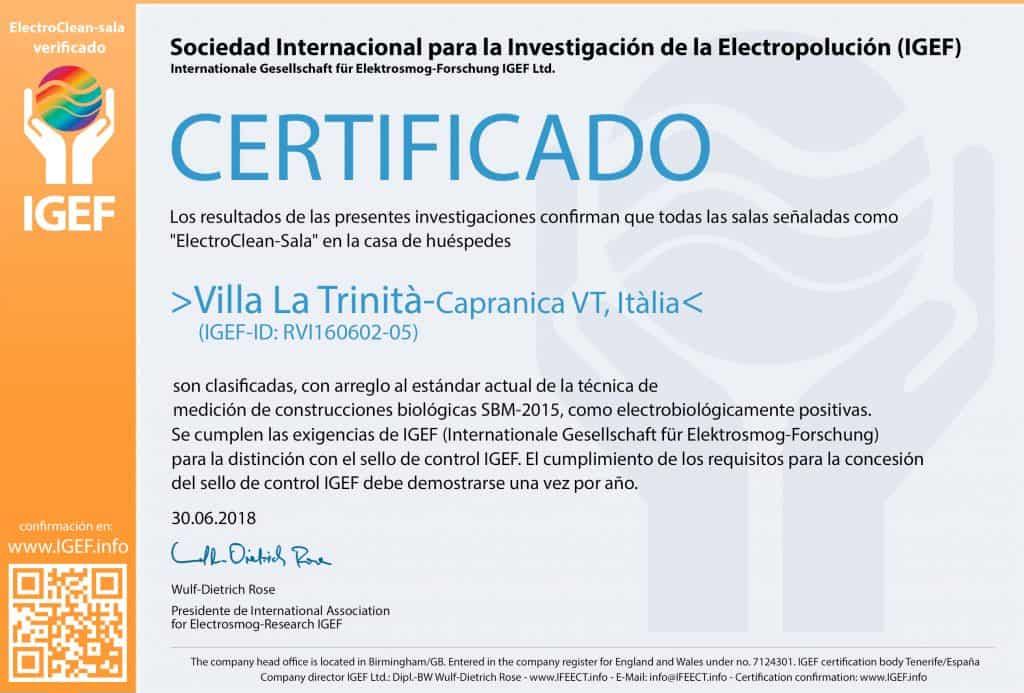 IGEF-Certificado