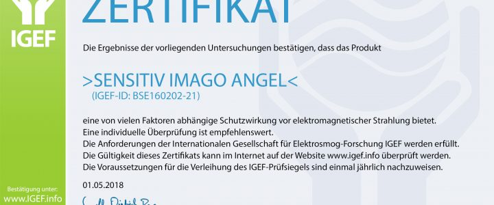 SENSITIV IMAGO ANGEL (IGEF-ID: BSE160202-21)