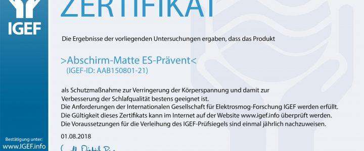 IGEF-Zertifikat-AAB-DE-18