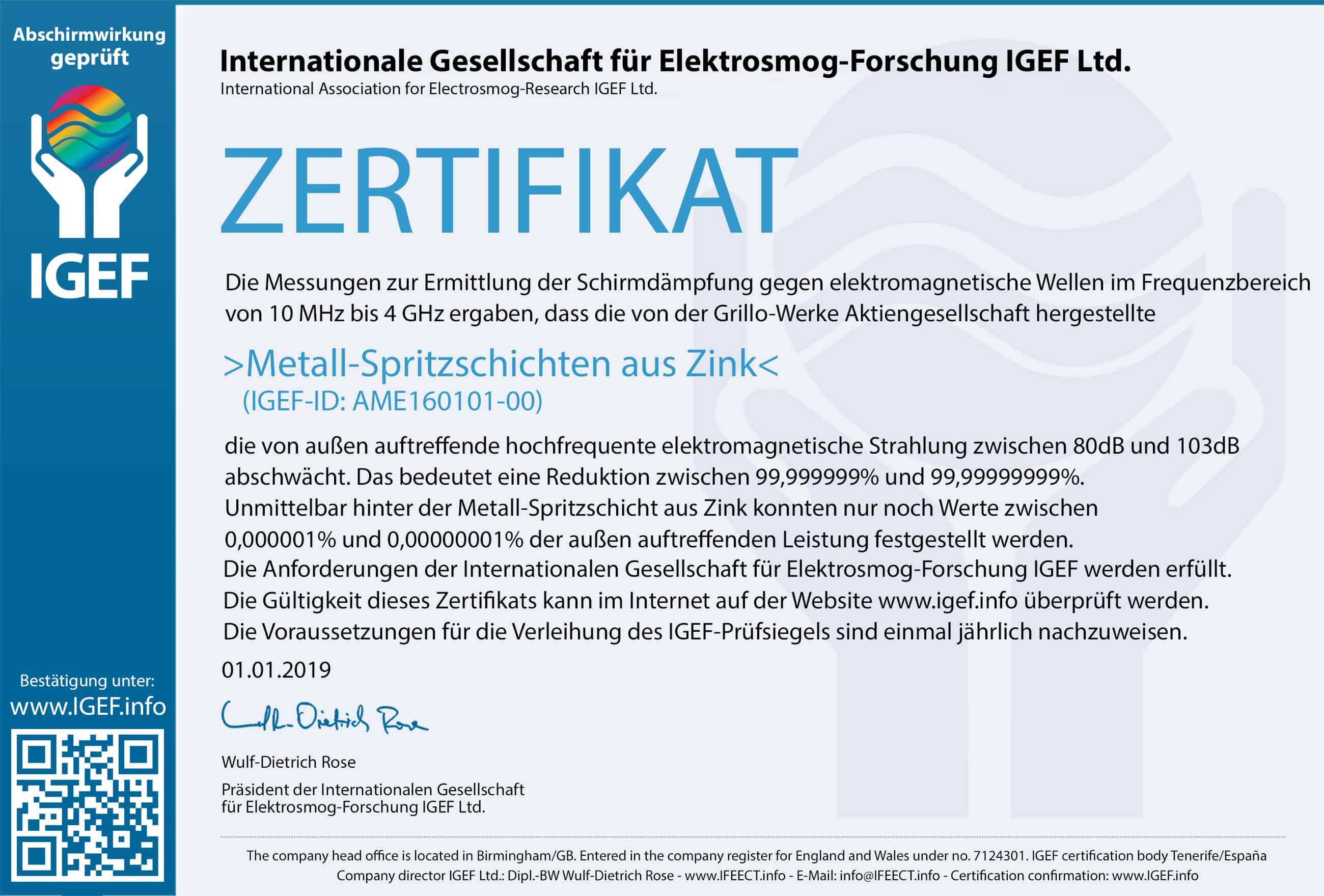 IGEF-Zertifikat-AME-DE-19