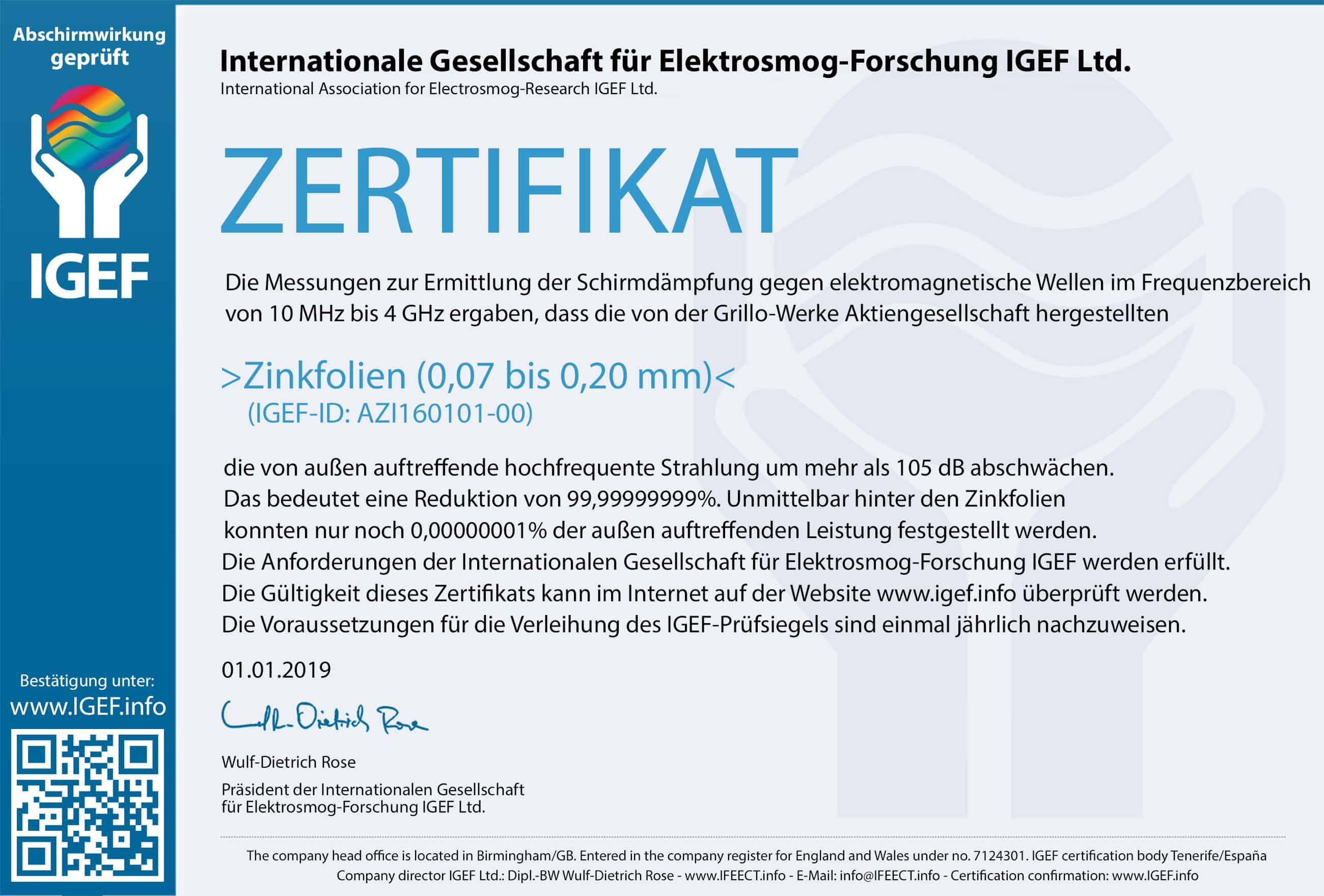 IGEF-Zertifikat-AZI-DE-19