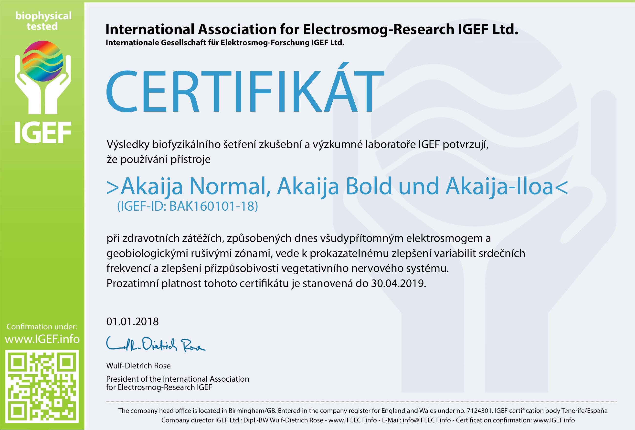 IGEF-Zertifikat-BAK-CZ-18