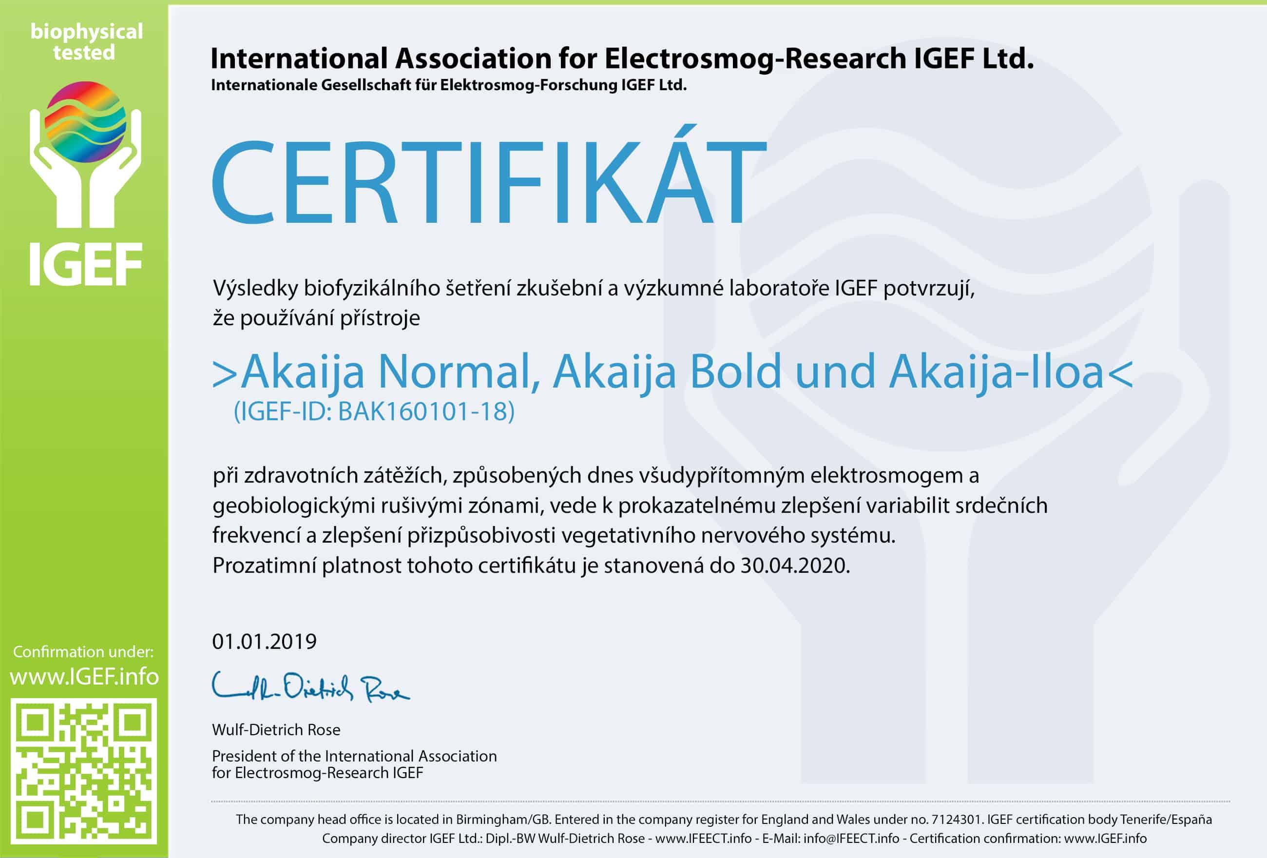 IGEF-Zertifikat-BAK-CZ-19