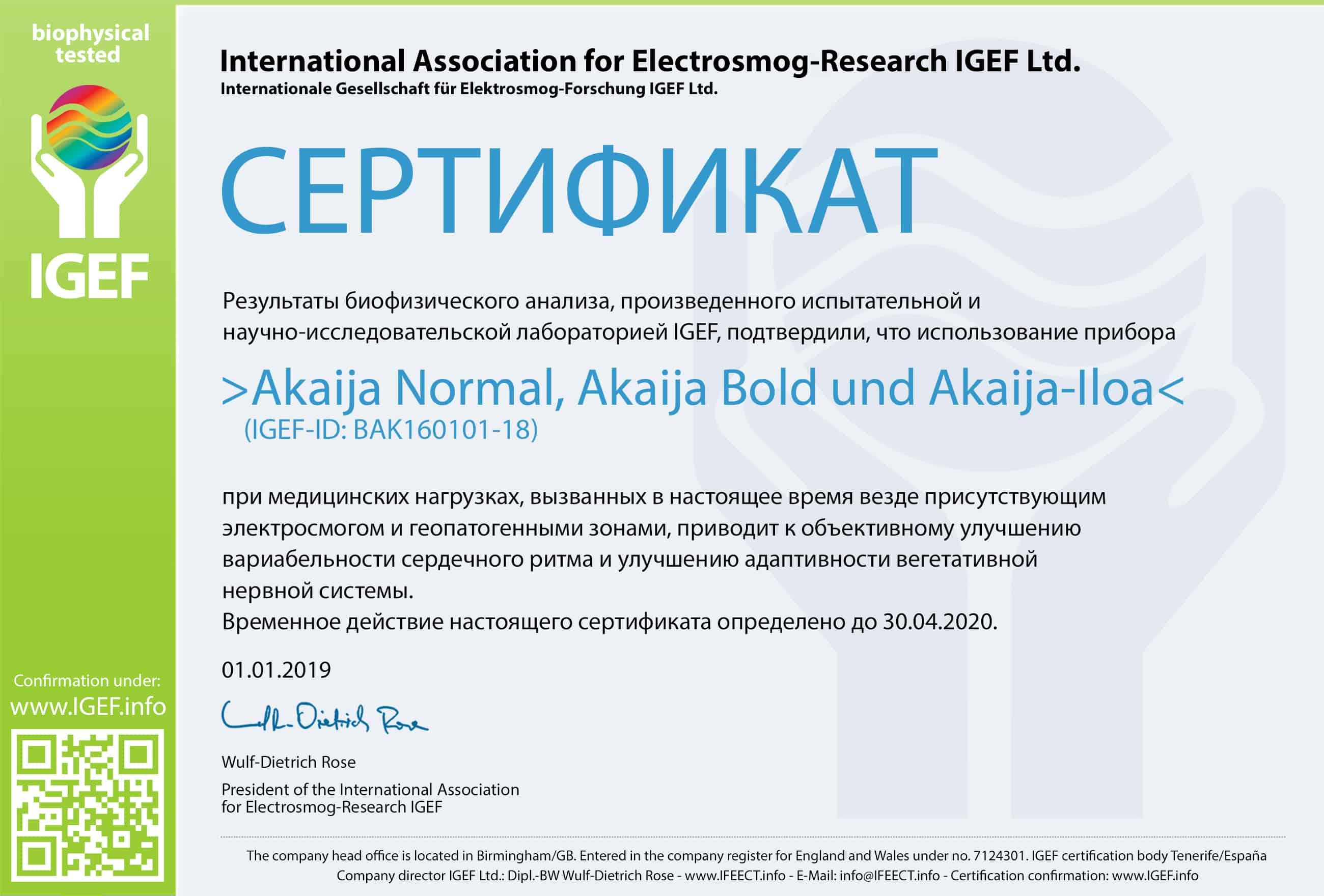 IGEF-Zertifikat-BAK-RU-19