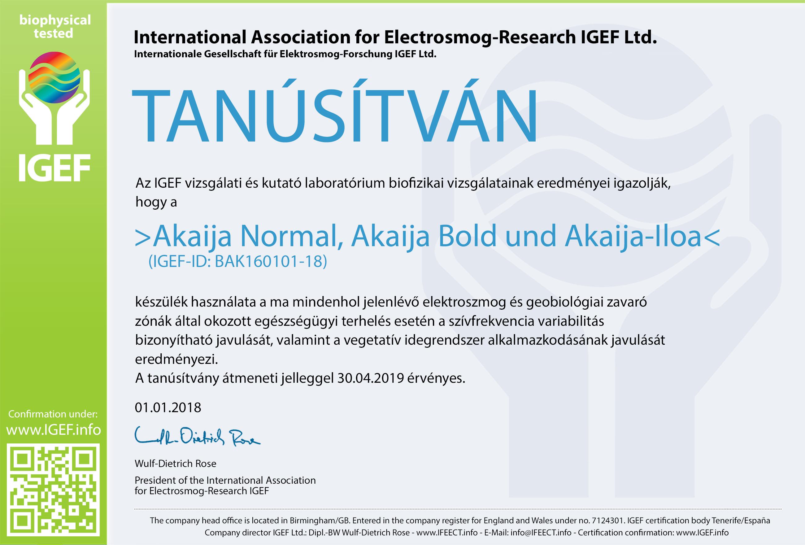 IGEF-Zertifikat-BAK-UN-18