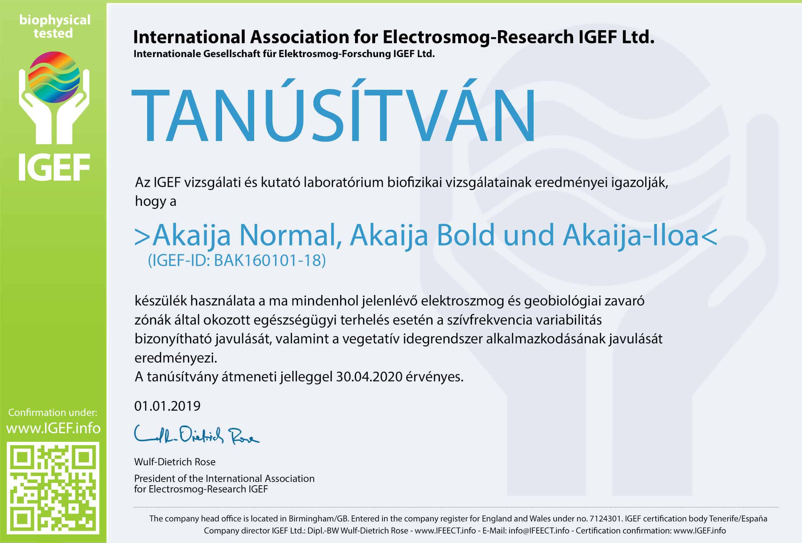 IGEF-Zertifikat-BAK-UN-19