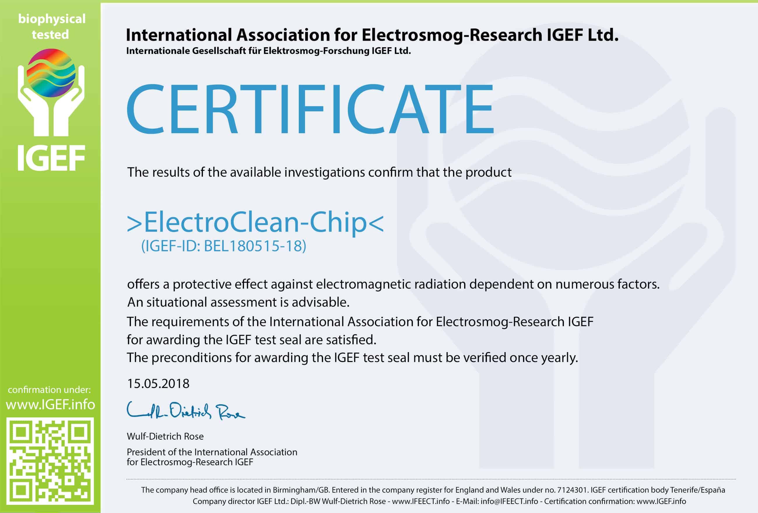IGEF-Zertifikat-BEL-EN
