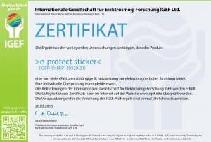 IGEF-Zertifikat-BEP1-DE-18