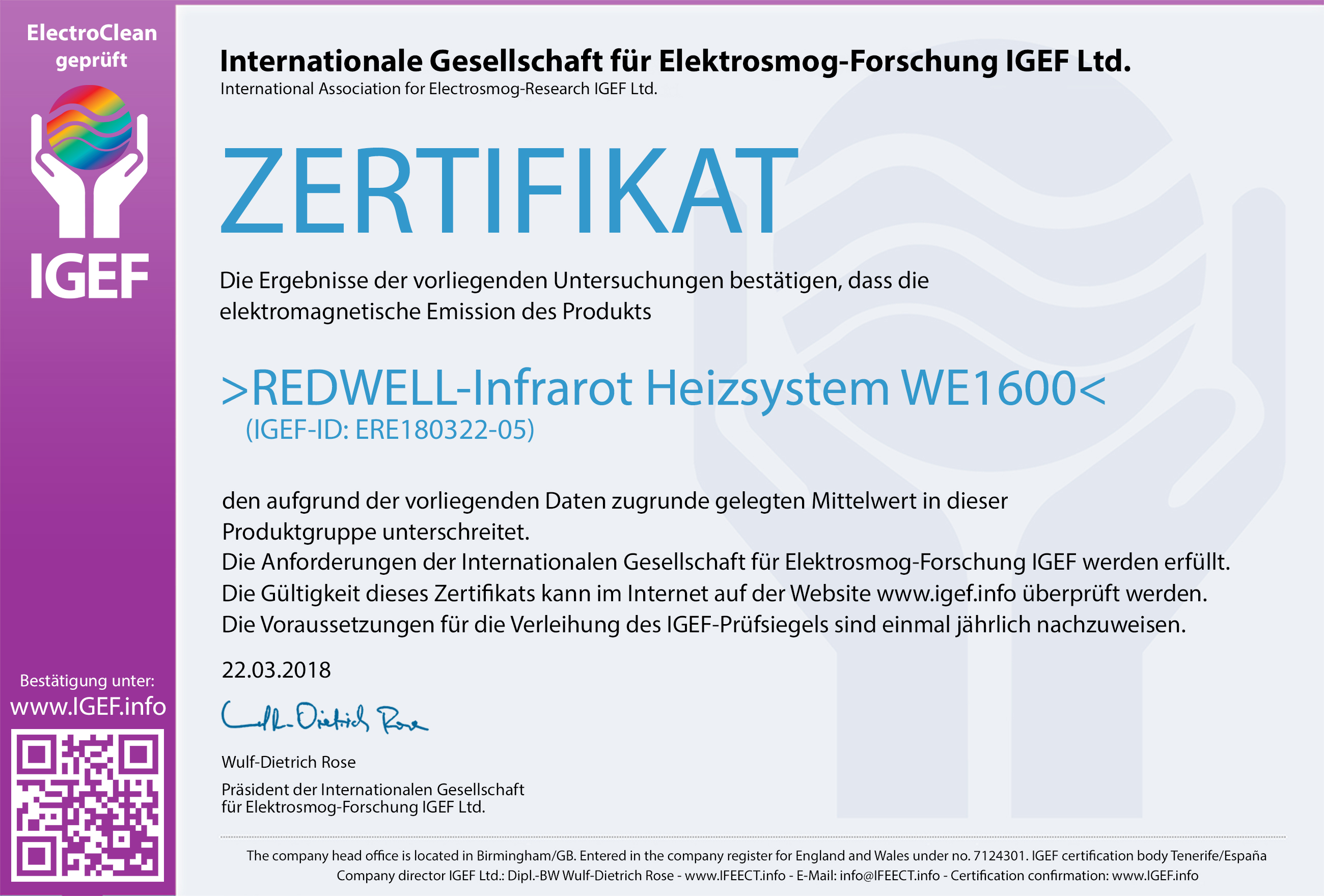 IGEF-Zertifikat-ERE4-DE-18